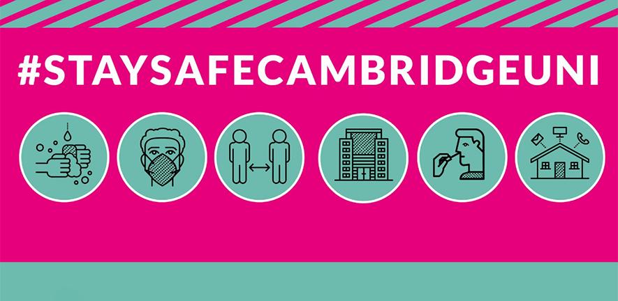 Stay Safe Cambridge Uni banner